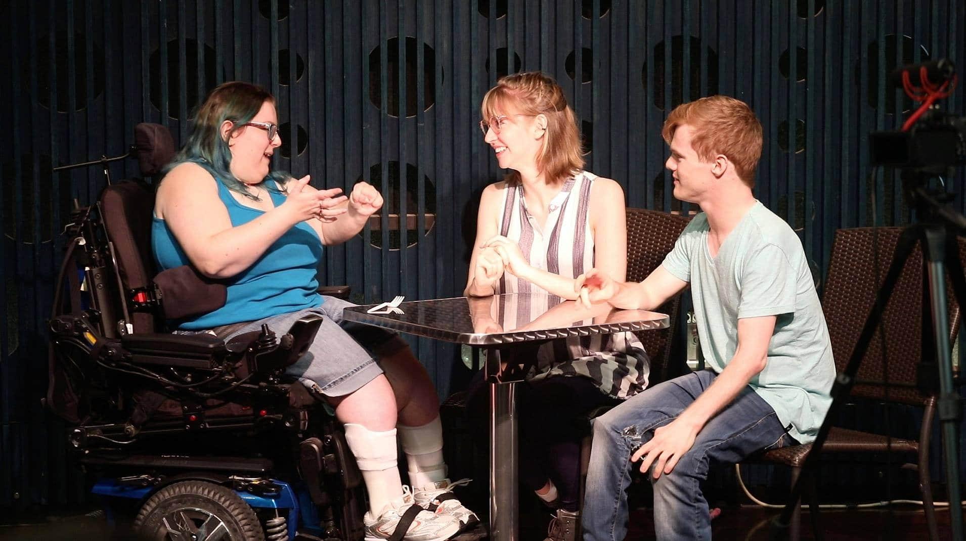 Photo: Actors perform a scene during the 2019 TFA Training Program