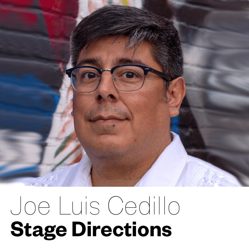 Joe Luis Cedill reading Stage Directions