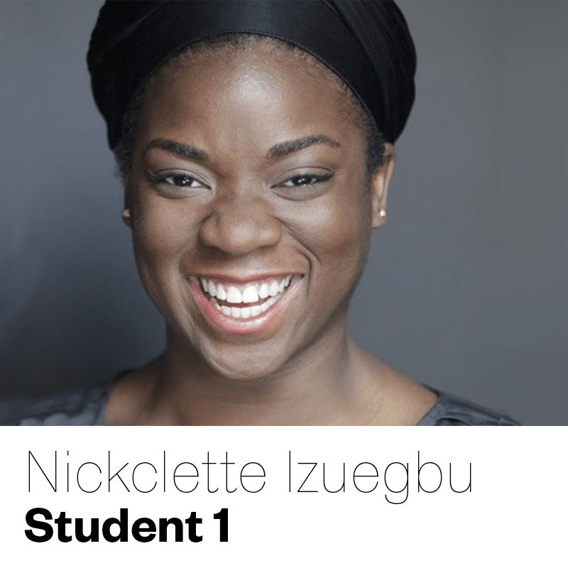 Nickclette Izuegbu as Student 1