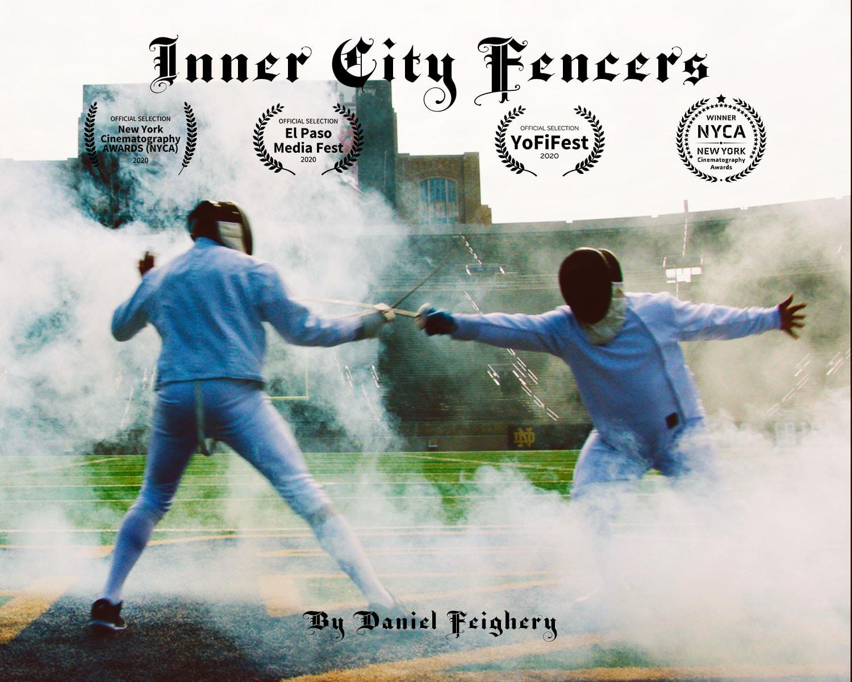 Inner City Fencers Poster3 Daniel Feighery