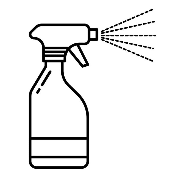 Illustration of Spray Bottle