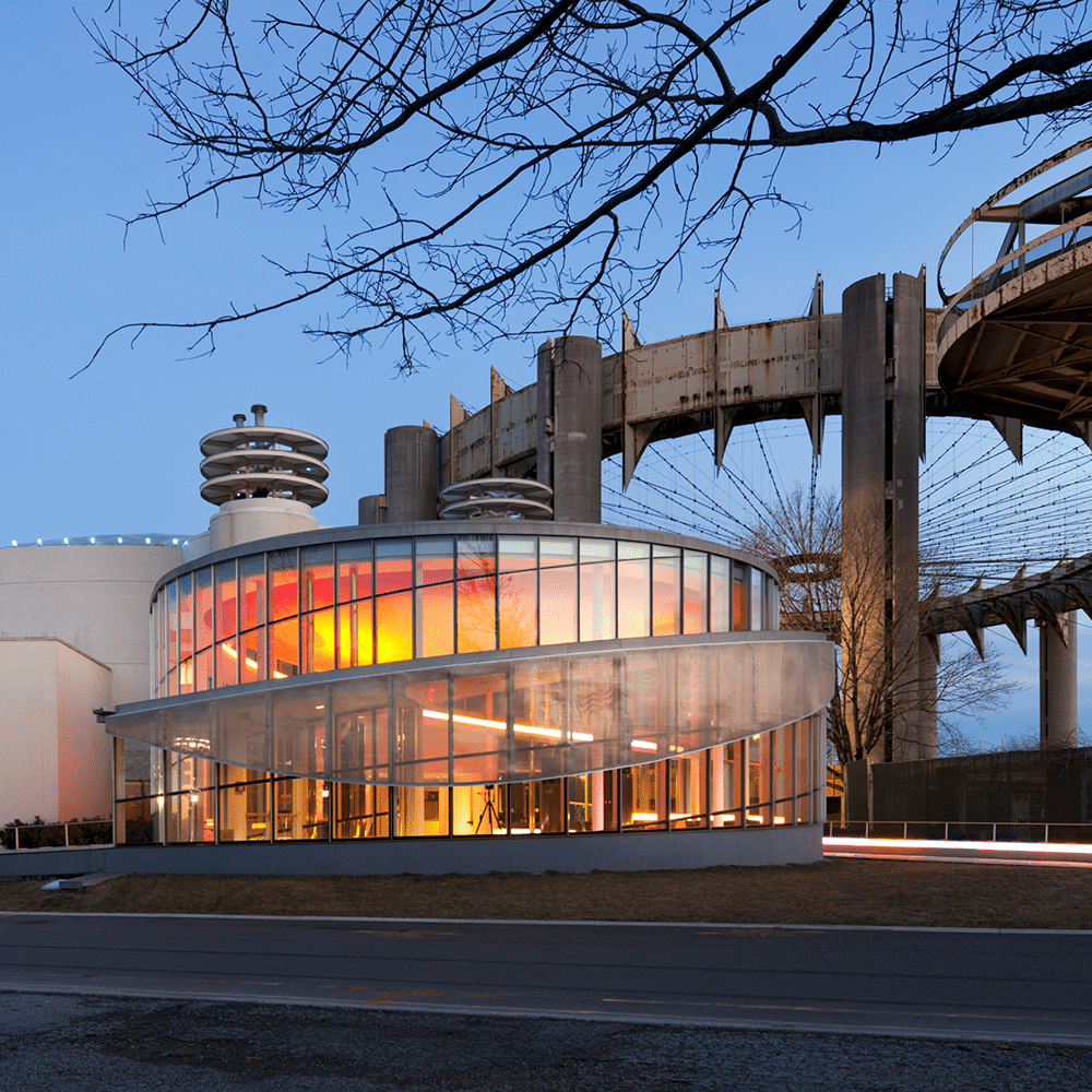 Photo of Queens Theatre and New York State Pavilion