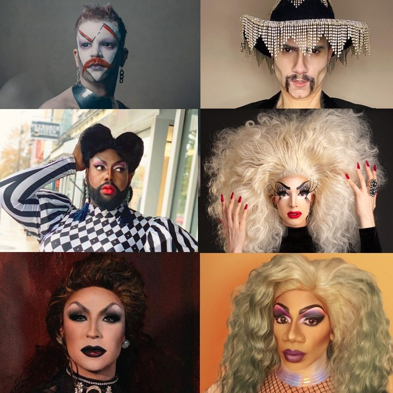 Drag Project Collage Square